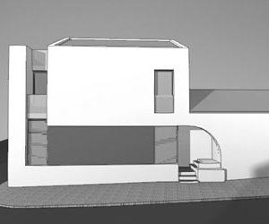 Alteration and modification of a house – Portimão