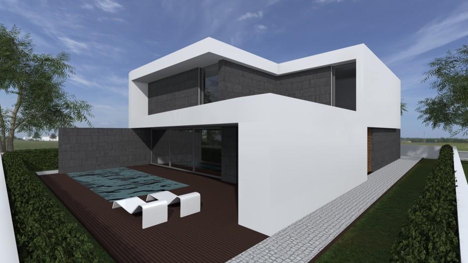 Moradia t4 bemposta portim o chave na m o belc for Arquitecto t4
