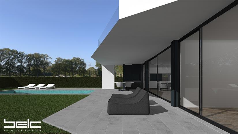 Alto do Pacheco L20 – terraço piscina